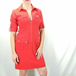 Sharagano Red Dress Size 6